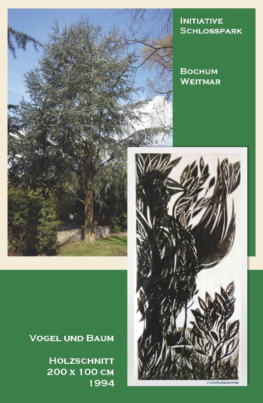 Vogel und Baum