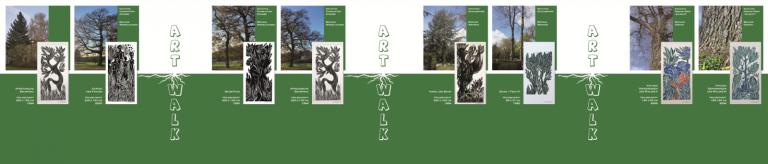 Bau(m)Kunst - Artwalk - Banner